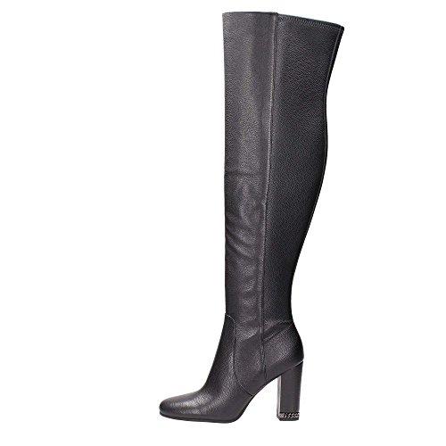 Michael Kors 40F6SBHB5L Boot Woman 100% Leather Black Black 40½