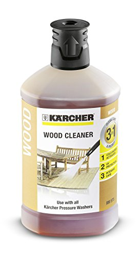 Karcher 1L Wood Cleaner 3-in-1 Plug and Clean Pressure Washer Detergent