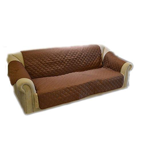 ueetek schützt Sofa Sofa Wasserdicht Decke für Tiere Katze Hund (braun) (Braun Kofferraumwanne)