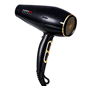 PARWIN PRO 2000W Super Negative Ion 2 Speed 3 Heat Settings Professional Hair Dryer, with DC Motor Power Blow Dryer, Safe Standard UK Plug