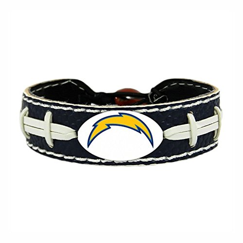 San Diego Chargers Team Farbe NFL Fußball Armband (Fußball-ladegeräte)