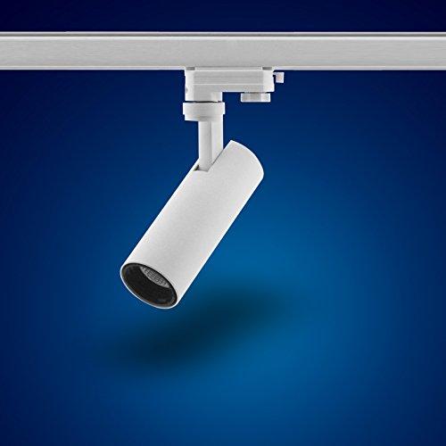 mext Electronic de 3fases de alimentación carril Foco 15W Foco LED 3fases, s29W Blanco Cálido para Sistema de raíles