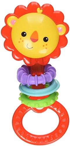 Fisher Price Infant CGR32 - Dentaruolo Leoncino, Multicolore