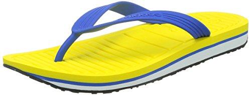 adidas - A collo basso Ragazzi uomo Unisex adulti , blu (Blue/Yellow), 44 (Adidas Mens Infradito)