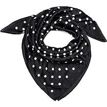 styleBREAKER Foulard carré pour femme avec un imprimé à pois rétro, tissu,  fichu, 8314ece364f