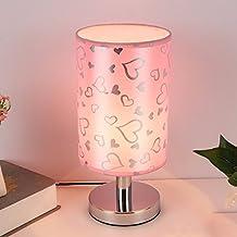 Kreative Holz Schlafzimmer Nachttischlampe, einfache Dekoration Nachtlicht, Lampe Hochzeit Geschenk Fütterung, B-Bügeleisen, Schalter des Helligkeitsreglers