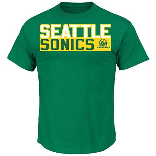 Shawn Kemp Seattle Supersonics Majestic NBA