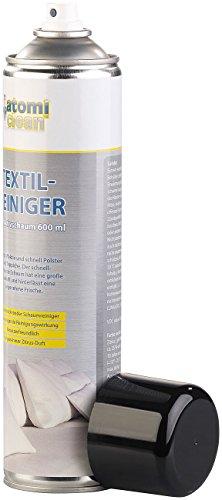 AtomiClean Polsterreiniger: Textilreiniger mit Aktivschaum, Zitrus-Duft, 600 ml (Textil-Reiniger)