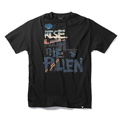 FALLEN T-Shirt DRIFTER S/S Black