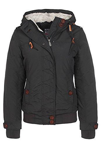 Sublevel Damen Winterjacke mit Kapuze & Stehkragen | Kapuzenjacke | Warme Steppjacke mit Daumenloch und geräumigen Taschen