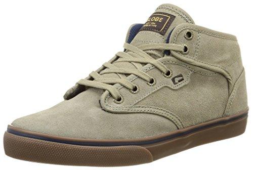 GlobeMotley Mid - Sneaker Uomo, Beige (Beige (16230 sand/navy)), 41