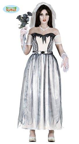 Ideen Braut Kostüm Halloween (Geister Braut Kostüm für Damen Gr. M und L,)