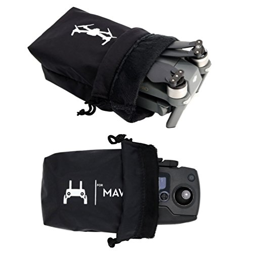 Preisvergleich Produktbild Rantow Mavic Pro Wasserdichte Tasche Combo, Speicher Drone Body Bag + Fernbedienung Tragen Tuch Hülle für DJI Mavic Pro Schwarz