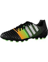 Adidas Nitrocharge 3.0 Trx Hg - Zapatillas de fútbol, color Solar Slime/Black/Solar Zest, talla 41 1/3
