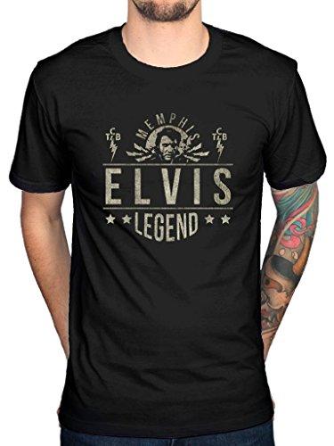 Official Elvis Presley Legend T-Shirt
