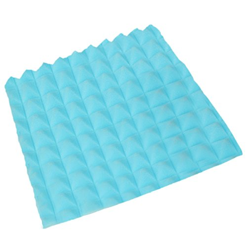 king-do-way-pack-of-5-acoustic-foam-board-soundproof-sound-stop-absorption-pyramid-studio-blue