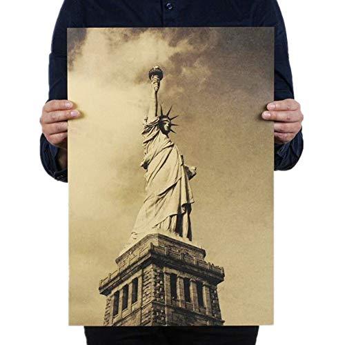 Csheng Posters Peliculas Estatua De La Libertad Decorativo
