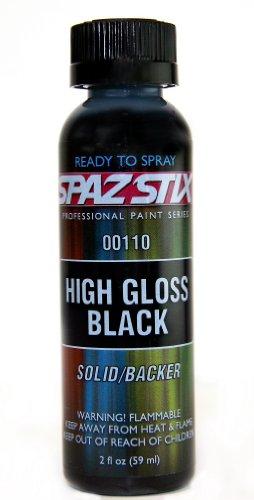 High Gloss Black / Backer Airbrush Paint 2oz -