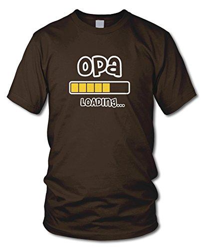 shirtloge - OPA LOADING... - KULT - Fun T-Shirt - in verschiedenen Farben - Größe S - XXL Braun