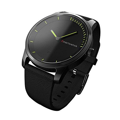 KOBWA KOBWA Männer Das Handgelenk Smart Watch, Rundem Bildschirm Super Lange Standby Bluetooth 4.0 Wasserdicht IP68 Smart Uhr Mit Multifunktions - -Schlaf überwacht, Botschaft Mahnung, Kalorien Rechner Fit?