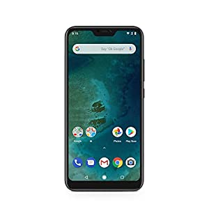 Xiaomi Mi A2 Lite - (Dual SIM) 64GB 5.84-Inch Android 8.1 UK Version SIM-Free Smartphone - Black (Official UK Launch)