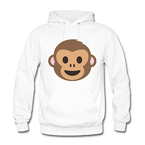 And Adidas Tall Big Hoodie (Women Cartoon Cute Monkey Pattern Casual Adult Long-sleeve Cotton Pullover Hooded Sweatshirt 3XL)