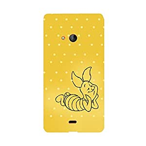 Digi Fashion Designer Back Cover with direct 3D sublimation printing for Microsoft Lumia 540