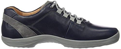 Ganter Barefoot-Men, Weite G, Derby Homme bleu (ocean/graphit 3063)