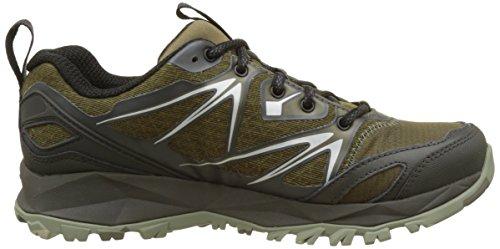 Merrell Capra Bolt Gtx, Chaussures de Randonnée Basses Homme Vert (Dark Olive)