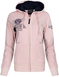 Geographical Norway sweat jacket Friponette Lady
