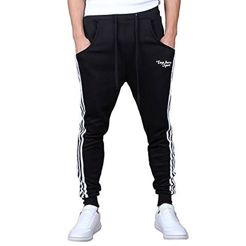 Sasairy Pantalon de Sport Casual Pantalon Sarouel de Danse Jogging