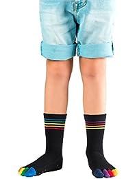 Knitido Rainbow Moods Kids Zehensocken (ABS)