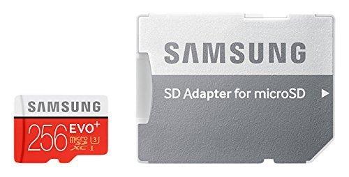 Samsung Evo Plus 256GB UHS-I Micro SDXC Memory Card (MB-MC256DA/APC)