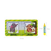 YBWZH Colorful Magical Doodle Children Water Painting Board Magic Graffiti Education Color Painting Toys Reusable Water Painting Card