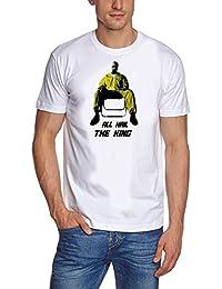 ALL HAIL THE KING - Breaking Bad - Heisenberg T-Shirt div. Farben S - XXXL