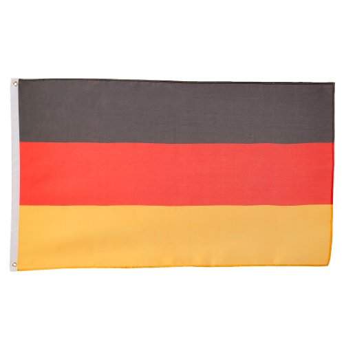 Ultranatura Deutschlandfahne / -flagge 150 x 90 cm - 7 verschiedene Nationen