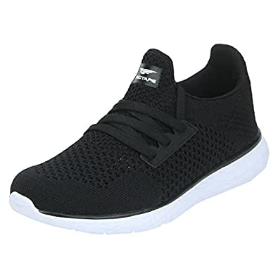 Red Tape Women's Black Running Shoes-2 UK/India (35 EU) (RLO0081A-35)