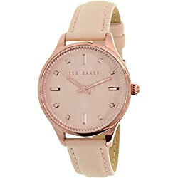 Ted Baker Ladies Gold Plated Strap Watch