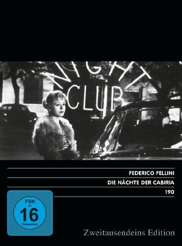 Die Nächte der Cabiria. Zweitausendeins Edition Film 190.