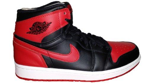 AIR Jordan 1 Retro HIGH OG 'BRED' - 555088-023 - Size 47-EU