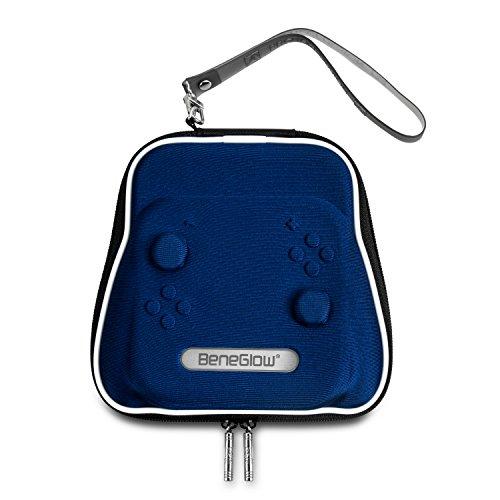 Nintendo Switch Joy-Con Lade-Griff-Gehäuse, BeneGlow Portable harte schützende Reise Tragekoffer Shell-Tasche für Nintendo Switch Joy-Con Lade-Griff