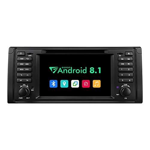 eonon GA9301B Android 8.1 fit BMW E39 1995-2002 Autoradio 2GB RAM 32G ROM Quad-Core Indash 17,8 cm (7 Zoll) LCD Touchscreen DVD GPS Bluetooth USB FM unterstützt Lenkradsteuerung 4G WiFi DAB+ Headunit