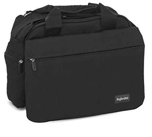 Inglesina AX90D0BLK My Baby Bag Borsa Fasciatoio, Nero (Black)