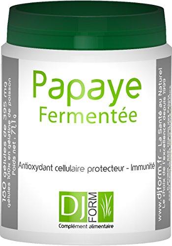 Papaya fermentée–Vitamine, Antioxidantien–180Kapseln