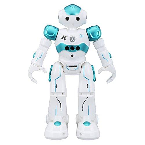 Roboter Spielzeug, Tanzen Gesang Walking Spielzeug für Kinder, 500mAh / Gesture Sinne / Intelligent Tanzen Roboter für Weihnachtsgeschenke Geschenke Spielzeug - Blau (2 Yr Old Girl, Spielzeug)