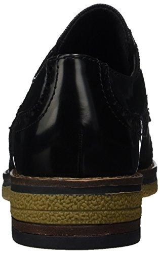 Marco Tozzi 23711, Scarpe Oxford Donna Nero (Black Br. Comb)