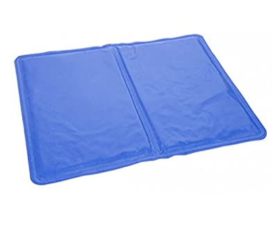 London Empire ® Dog Cool Mat Dogs Self Cooling Gel Mat Pads Pet Cat Cool Beds for Dog Crates Kennels and Beds 30 x 40cm