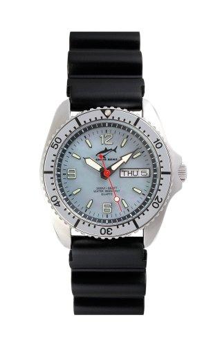 Chris Benz One Medium CBM-H-SI-KB Reloj unisex Reloj de Buceo