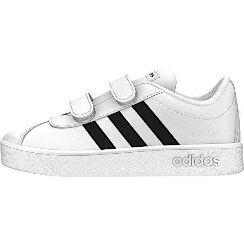 sports shoes 017e8 095da adidas VL Court 2.0 Cmf I, Scarpe da Ginnastica Basse Unisex-Bimbi 0-