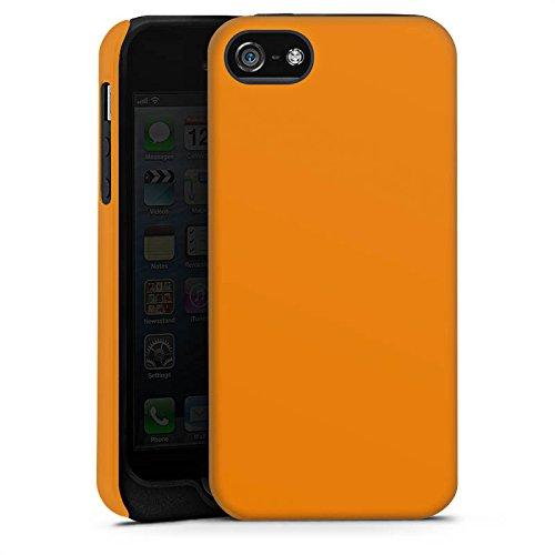 Apple iPhone 4 Housse Étui Silicone Coque Protection Carottes Couleur Orange Cas Tough terne